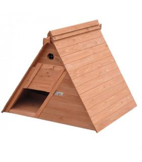 petit poulailler 3 4 poules bois transportable