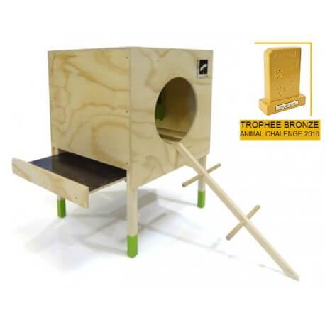 Poulailler Loft Pousse créative- trophee animal chalenge 2016