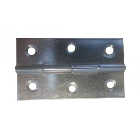 Charnières métal galvanisé lot de 2