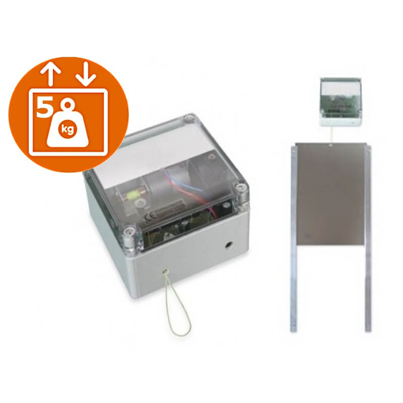 Portier Automatique Solaire Pour Votre Poulailler - Porte poulailler solaire