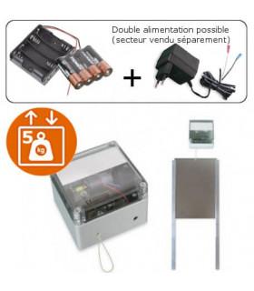Bodyguard, le kit porte automatique solaire pour poulailler piles ou secteur