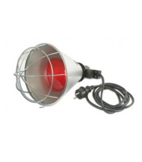 Lampe chauffante poussins avec ampoule et protection