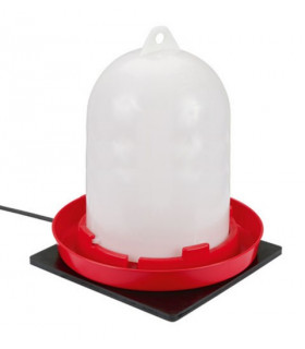 Plaque chauffante caouchouc pour abreuvoirs hors gel