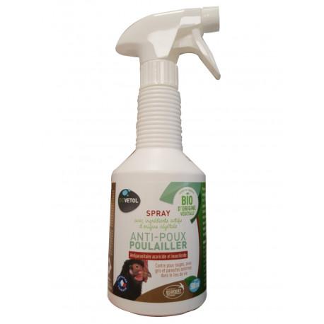 Spray anti-poux poulailler bio