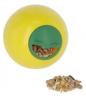 Balle de jeu distributrice snack ball