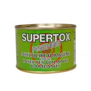 Insecticide fumigène SUPERTOX pour enfumer le poulailler