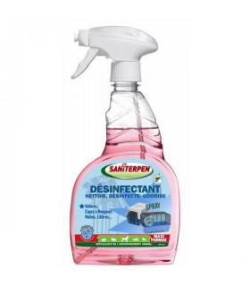 Spray désinfectant cages pret a l'emploi