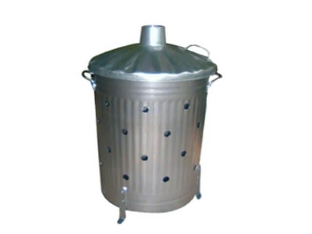 incinerateur de jaridn galva 100l. Black Bedroom Furniture Sets. Home Design Ideas