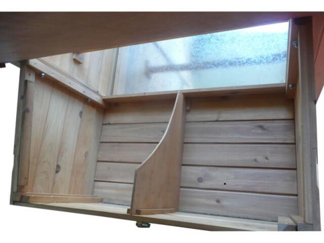 Pondoir bois pour poulailler for L interieur d un poulailler